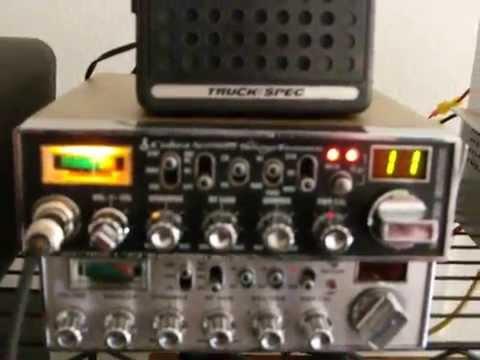 Cobra NightWatch Sound Tracker w/ Galaxy 225 Linear