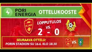 Pori Energia ottelukooste: FC Jazz - KaaPo 2.6.2019