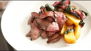Skirt Steak With Beets And Greens | Everyday Food With Sarah Carey