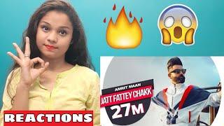 Girl's Reactions On Jatt Fattey Chakk By Amrit Maan