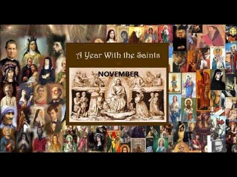 A Year With the Saints - November - Charity