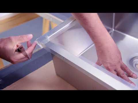 nobilia | Küchen | Xtra Arbeitsplatte - Montage Einbauspüle