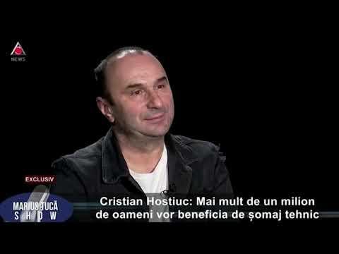 """Marius Tucă Show. Cristian Hostiuc: """"Mai Mult De Un Milion De Oameni Vor Beneficia De Somaj Tehnic"""""""