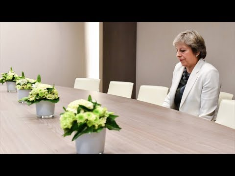Theresa May's most humiliating moments with EU leaders