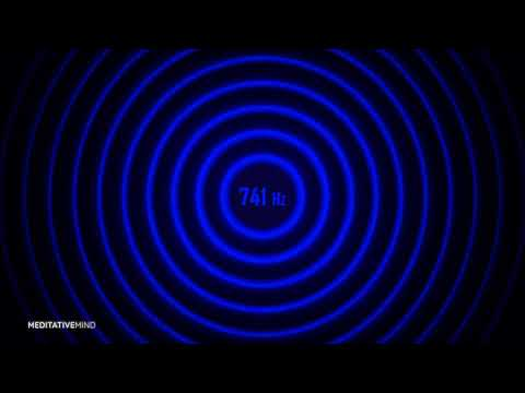 741 Hz | Spiritual Detox Frequency | Solfeggio Soundscape Music
