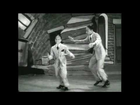 The Nicholas Brothers tap dance at a young  age