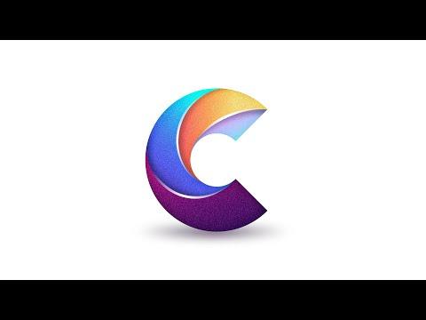 Letter C Logo Design on an iPad Pro - Affinity Designer iPad Tutorial thumbnail