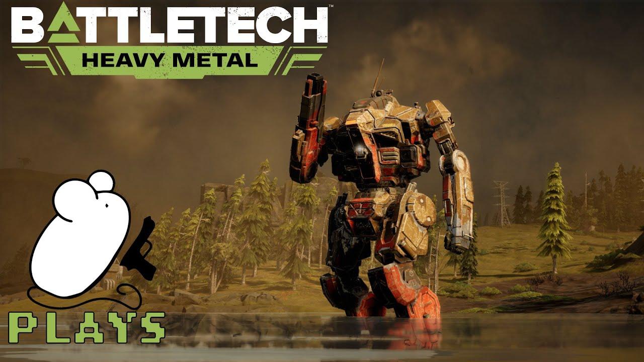 Battletech: Heavy Metal Career Mode Campaign (Live Stream) #50 - YouTube