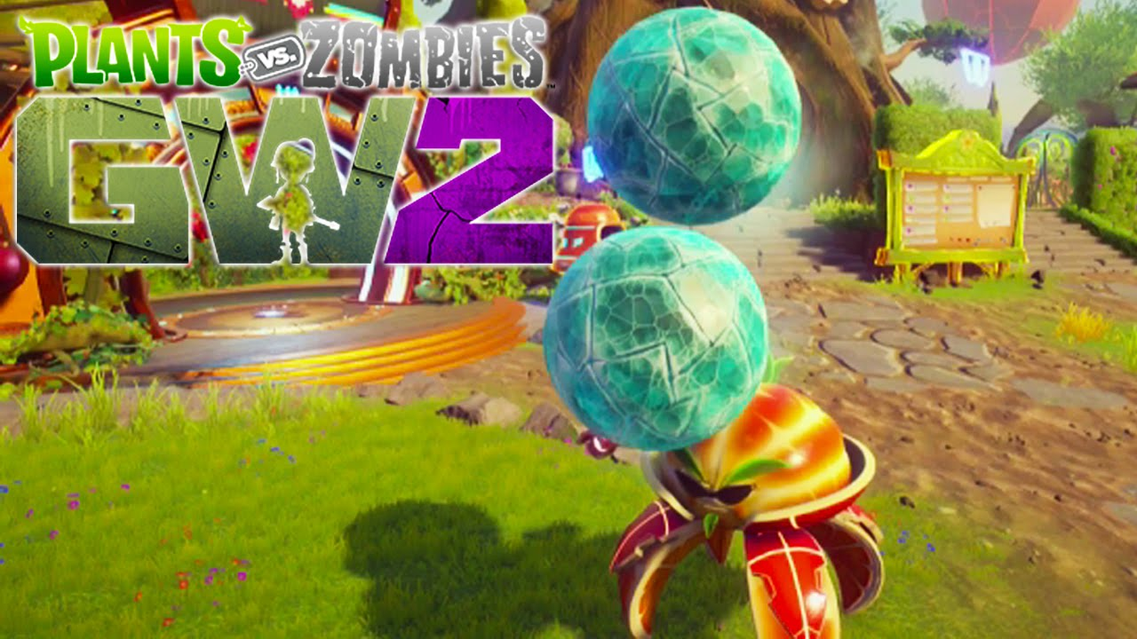 Citron from plants vs zombies garden warfare 2 plants vs zombies -  New Boss Ice Ball Citron Plants Vs Zombies Garden Warfare 2 Beta Funny Moments Youtube