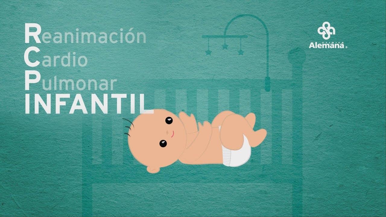 RCP Reanimación cardiopulmonar Infantil   Clínica Alemana