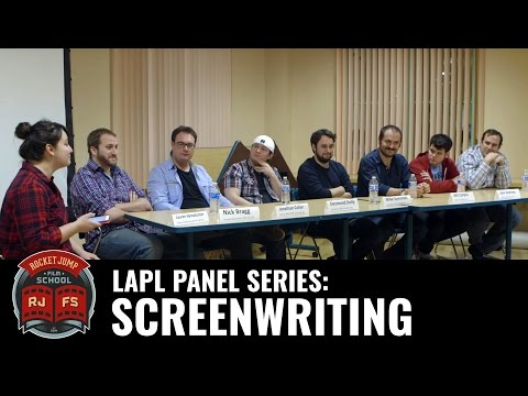 LAPL Panel Series: SCREENWRITING