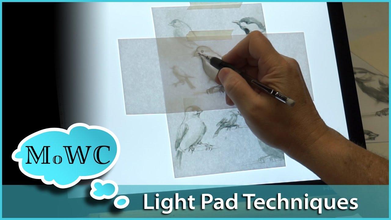 Huion L4S USB LED Tracing Light Box Board A4 Drawing Light Pad w// Swivel Holder