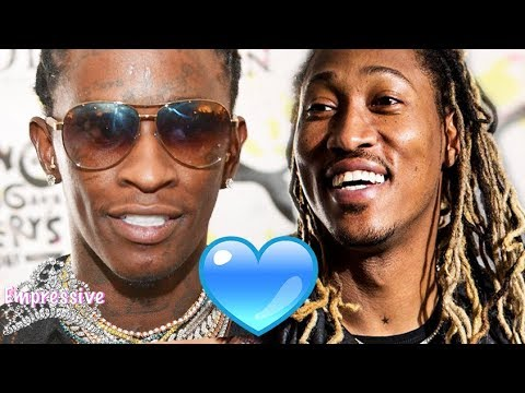 """Young Thug gushes over Future: """"We got our names tatted on each other"""""""