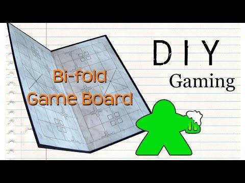DIY Gaming - How to Make a Bi-fold Gameboard