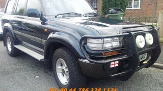 1994 Toyota Landcruiser hdj80 4 2 turbo diesel for sale 6 cylinder 1hdt   4x4xfaz