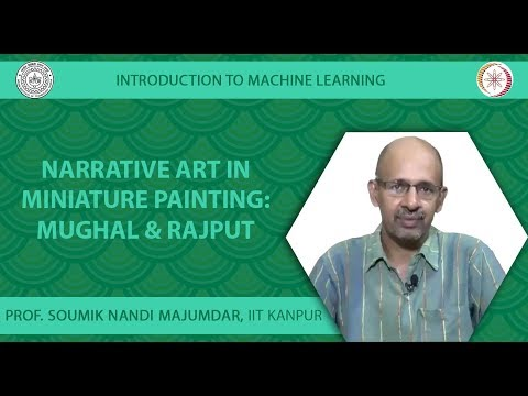 Narrative Art in Miniature Painting: Mughal & Rajput