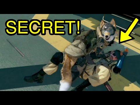 MGSV: Phantom Pain - D-Dog Licking Secrets (Metal Gear Solid 5)