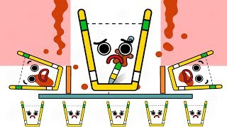 Happy Glass All Levels 3 Stars ( Level 151- 160 ) Happy Glass Christmas New Update New Levels