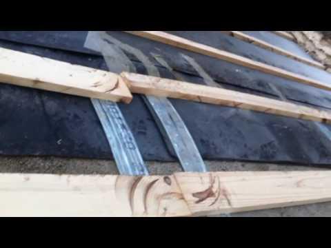 krov pripremljen za postavljanje novih crijepova