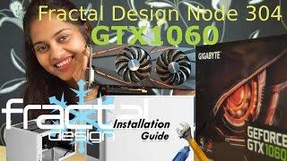 nvidia gtx 1060 graphic card installation in mini itx build
