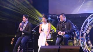 Aicelle Santos, Alden Richard & Betong Sumaya in Dubai (March 10, 2016)