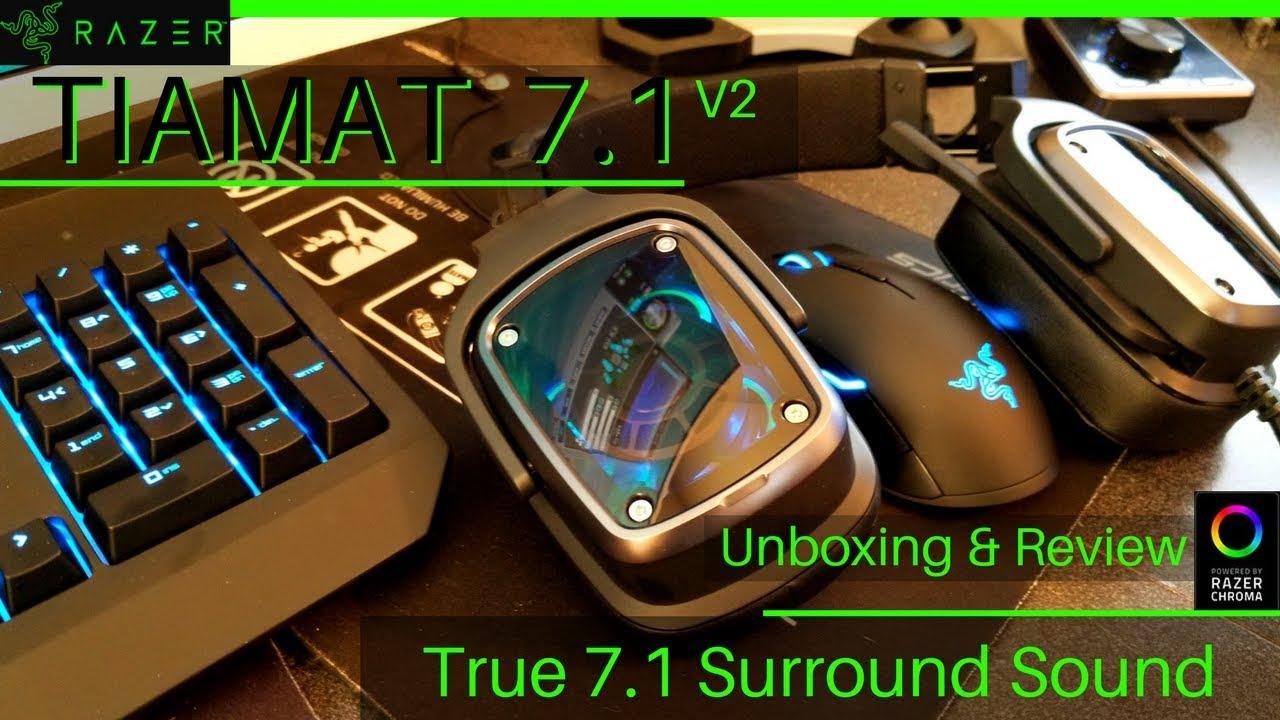 Razer: annunciate le cuffie Tiamat 7.1 V2 e Tiamat 2.2 V2