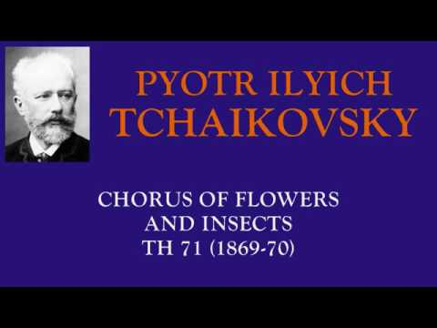Tchaikovsky : Mandragora - Chorus of Flowers and Insects from the projected opera (1869-70)