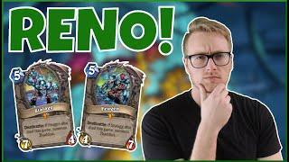 Hearthstone | Minesweeper! | Wild Reno Hunter | Rise of Shadows
