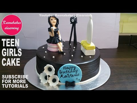 Birthday Cake Design For Teenage Girl Happy Birthday Cake Ideas Women 3d Fondant Cake Pics Youtube