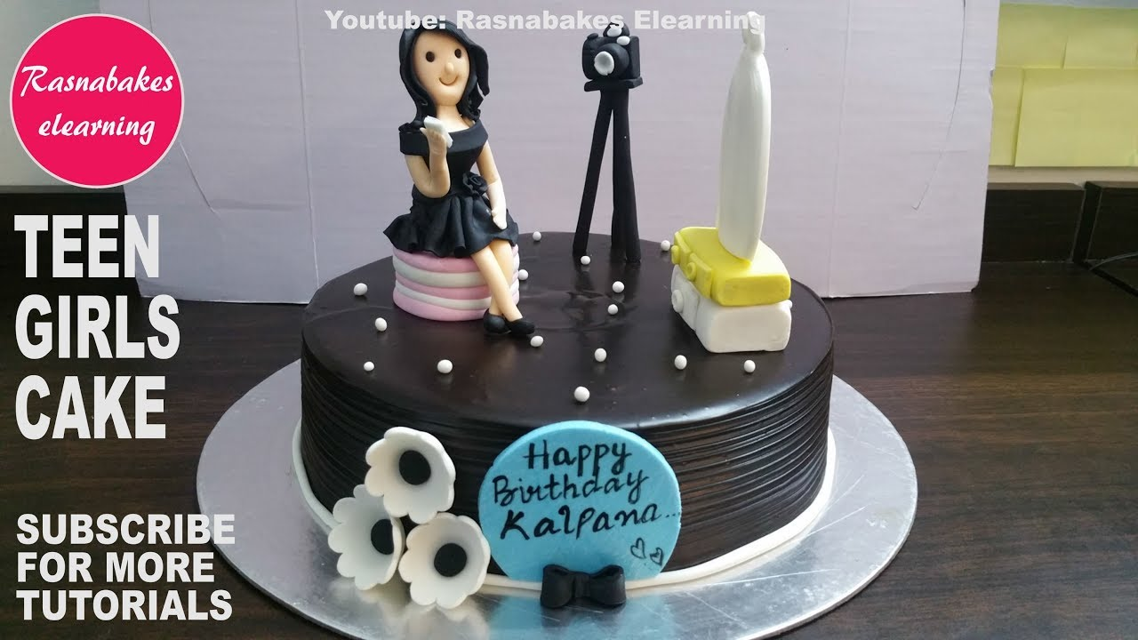 Birthday Cake Design For Teenage GirlHappy Ideas Women3D Fondant Pics