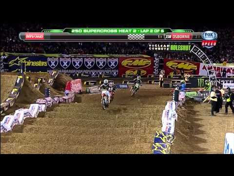 2013 AMA 250 Supercross Rd 4 Oakland - Full Event - HD 720p