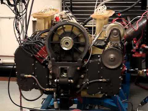 Rothsport Racing Engine Dyno - Porsche 908 Flat-8 - YouTube