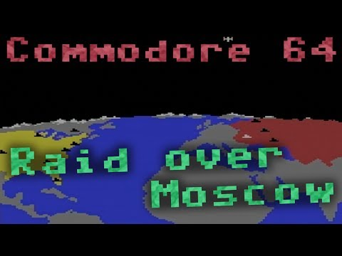 """CC64 playing """"Raid over Moscow"""" (1984). Game #121."""