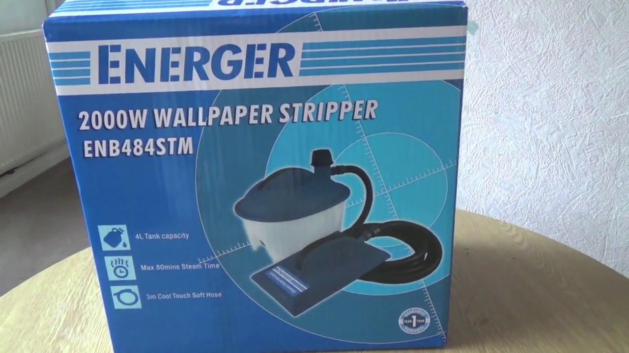 Energer Wallpaper Stripper - YouTube