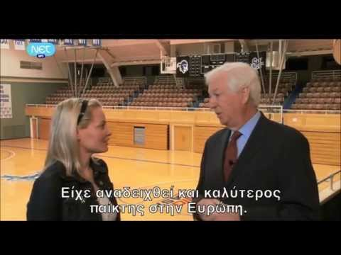 Bill Raftery speaks for Nick Galis