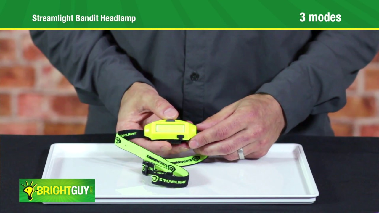 54ce2d89701 Streamlight Bandit USB Headlamp review - YouTube