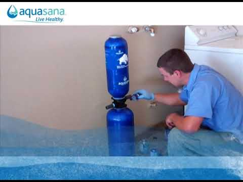 Installation Preview Aquasana Whole House Filters