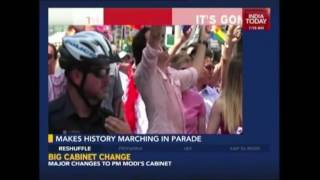Canadian Prime Minister Justin Trudeau At Pride Parade In Toronto