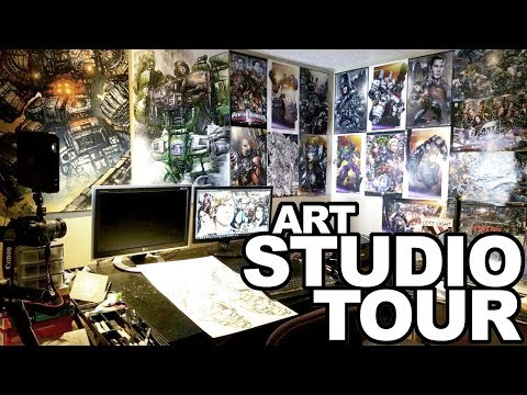 2018 Art Studio Tour | My Camera Equipment | AND INSTAGRAM CONTEST WINNERS!