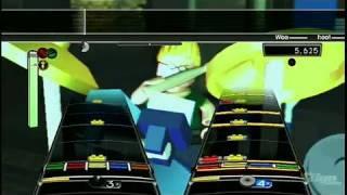 LEGO Rock Band Nintendo Wii Gameplay - Song 2 Blur