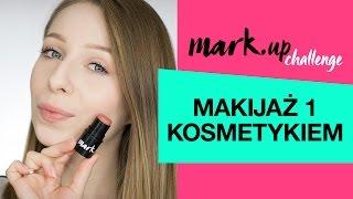 MARK.up Challenge - Makijaż 1 kosmetykiem  MARK