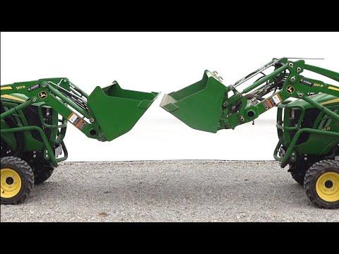 It Binds When It Dumps!!  Deere 120R MSL & NSL Side By Side
