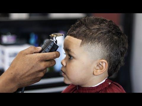 HAIRCUT TUTORIAL: HIGH TAPER HAWK (3 YEARS OLD)