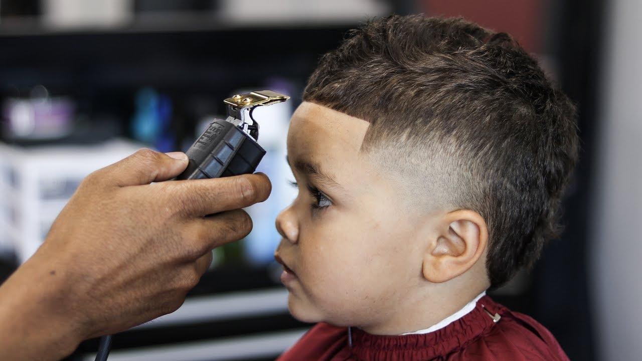 Haircut Tutorial High Taper Hawk 3 Years Old Youtube