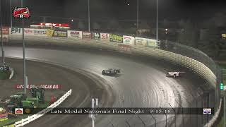 Knoxville Raceway Late Model Nationals 9-15-18