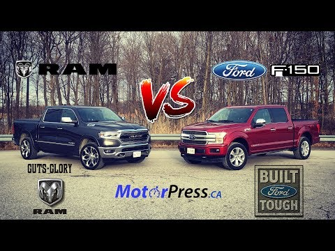 Ram  Limited Vs  Ford F- Platinum Diesel - Putting Luxury To Work - Review