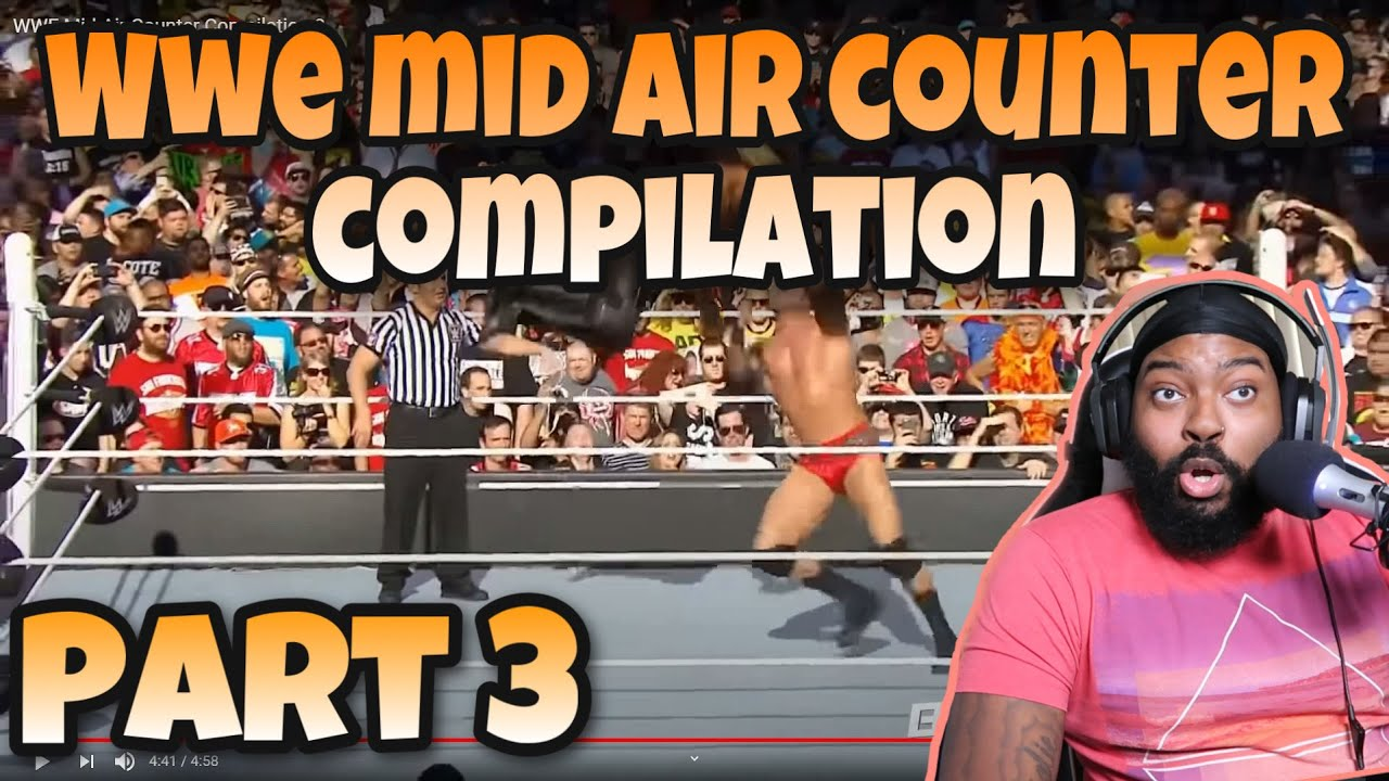 WWE Mid-Air Counter Compilation 3 (Reaction)