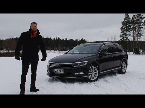 Koeajossa uusi Volkswagen Passat 2015