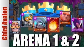HOW TO WIN IN CLASH ROYALE ARENA 1 & 2 | Best Giant Deck Strategy