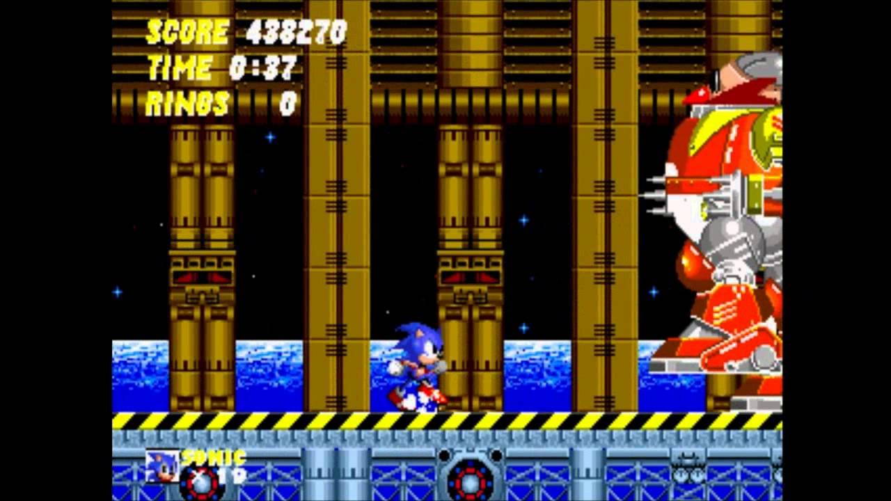 Sonic The Hedgehog 2 Gameplay Part 15 Death Egg Zone Youtube
